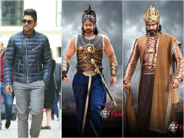 Allu Arjun tweet about Baahubali movie