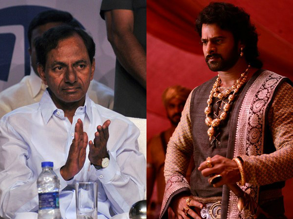 KCR to watch Baahubali