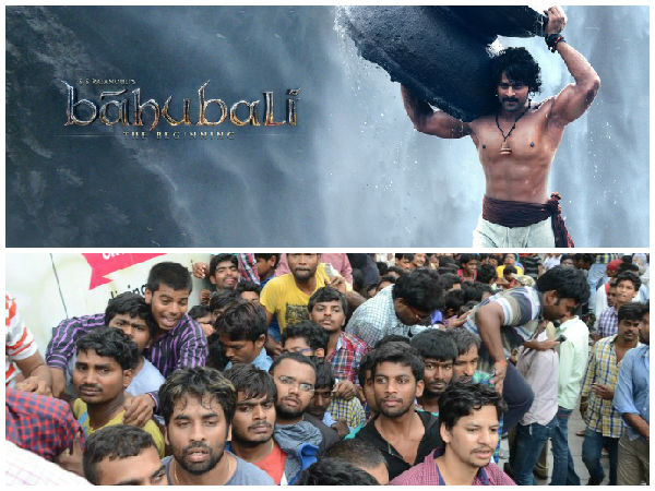 Baahubali movie fans over action