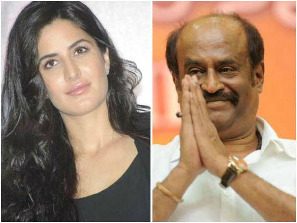 Katrina Kaif To Act With Rajinikanth?
