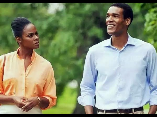 The Obamas' first date recreated for 'Southside With You'
