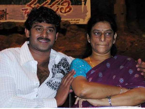 Prabhas Mother about Baahubali
