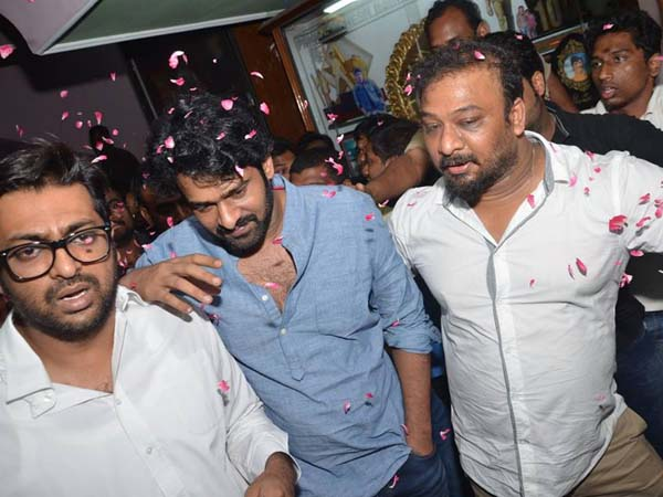Video: Prabhas Watches Baahubali Sudharshan Theatre