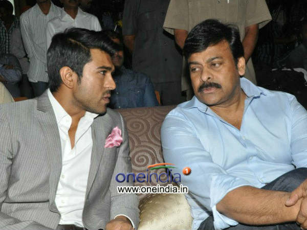 Ram Charan fight master to Chiranjeevi in Srinu Vaitla's movie!