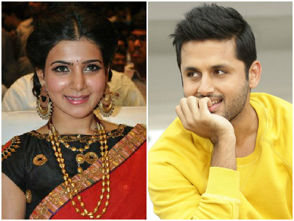 Trivikram project : Nithin Came Only After Samantha