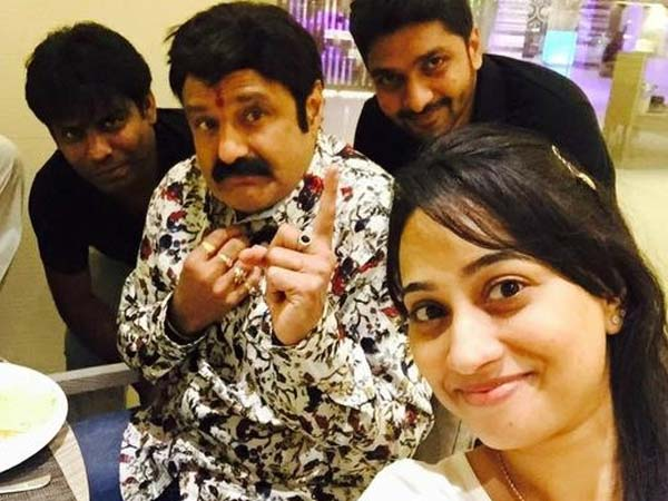 Balakrishna Funny Selfie: Being ANR