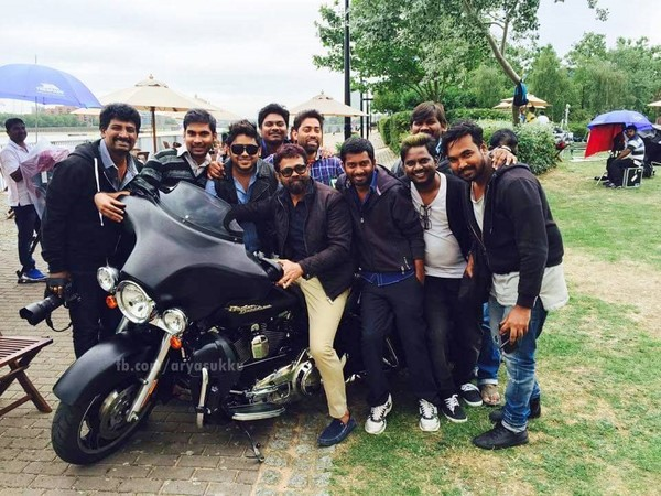 Photo:NTR's bike in 'Nannaku Prematho'