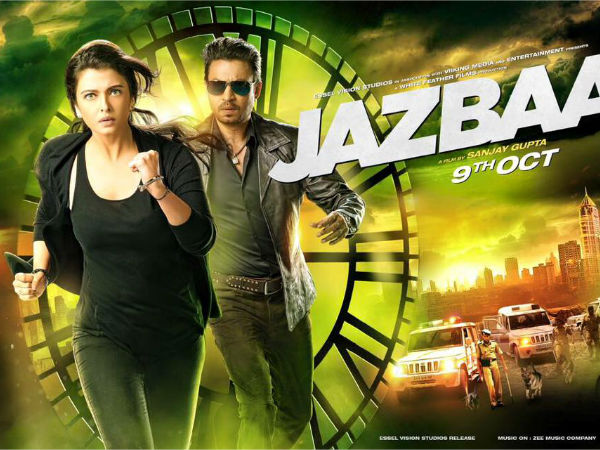Jazbaa Official Poster