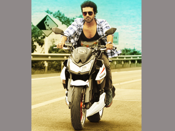 Ram Charan Official Teaser  Launched by  Megastar