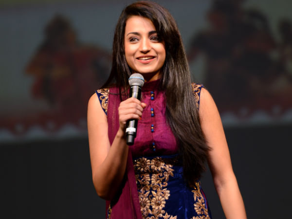 Trisha Sing A song for Nayaki Movie