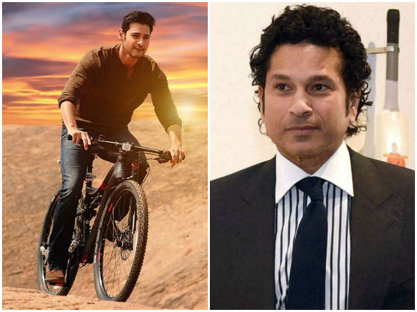 Srimanthudu's special show for Sachin