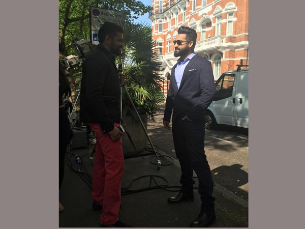 NTR's 'Nannaku Prematho' : Office set erected in London