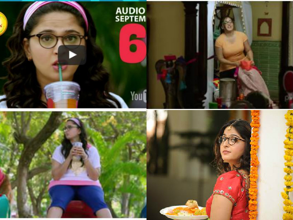Anushka's  latest Size Zero  trailer
