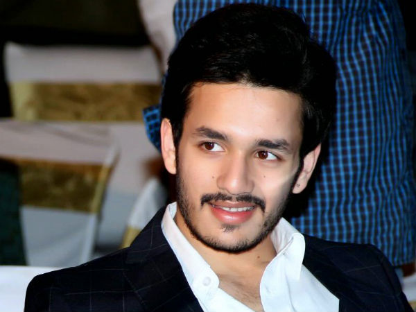 8 Sets for 'Akhil' movie!