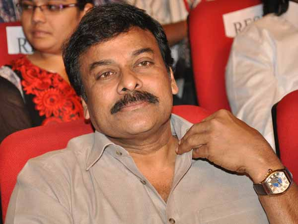 Chiranjeevi to join 'Bruce Lee' from Sep 12 th