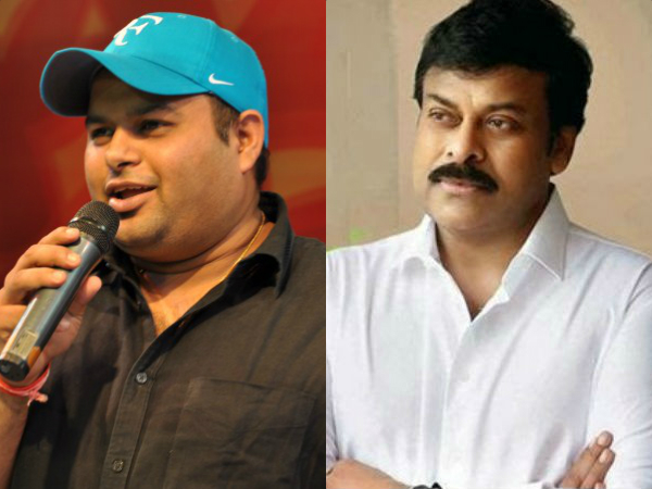 Thaman excited tweets on Mega Star