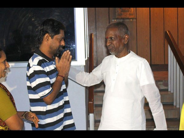layaraja Fulfils Final Wish Of Terminally Ill Cancer Patient in Chennai