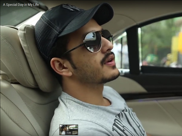 Video :A Special Day in My Life:Akhil