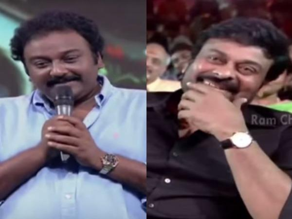 VIDEO: V V Vinayak Hints At Kaththi Remake, Watch Chiranjeevi's Reaction