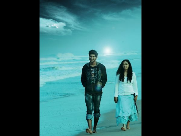 The first look official logo of dulQuer ,NithyaMenen's 'Jathaga ! '