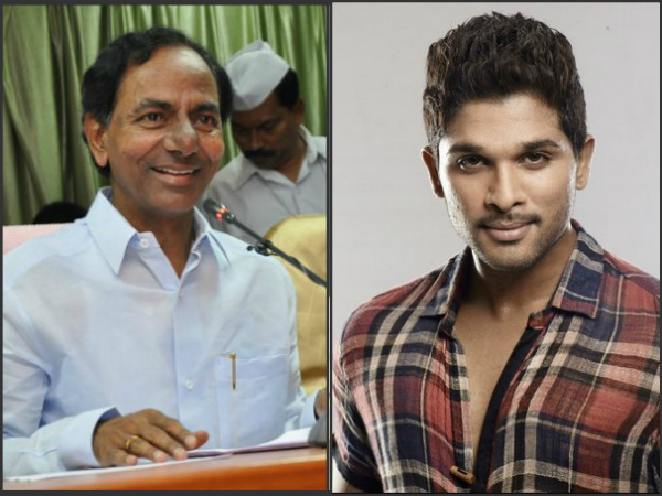 Rudhramadevi : Allu arjun thanks to KCR