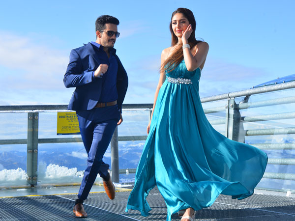 Akhil movie has been titled Surya Kavacham in Tamil