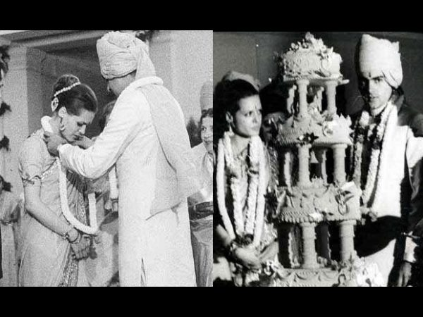 Rajiv Gandhi & Sonia's Wedding Video