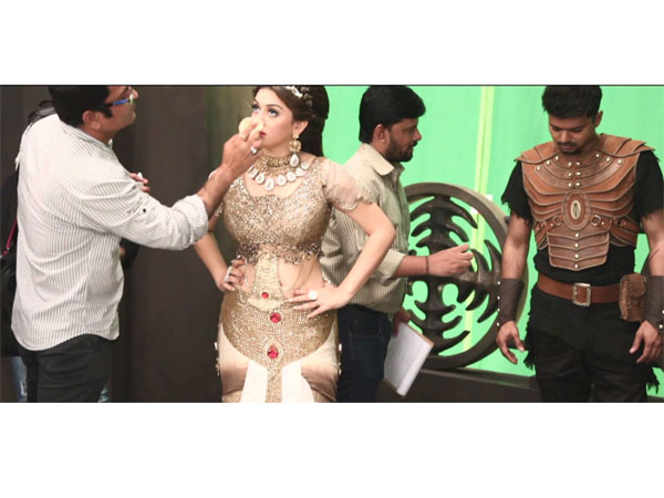 Vijay's Puli making video