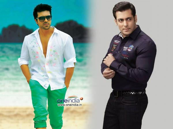 Salman is revealed to have called Charan personally for the dubbing