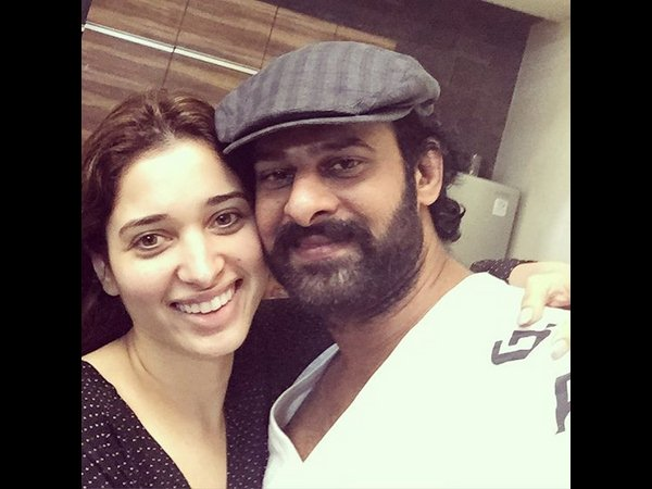Prabhas celebrates b'day with Tamannaah Bhatia