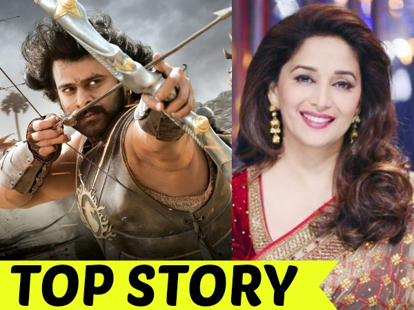 Never Approached Madhuri Dixit For Baahubali 2
