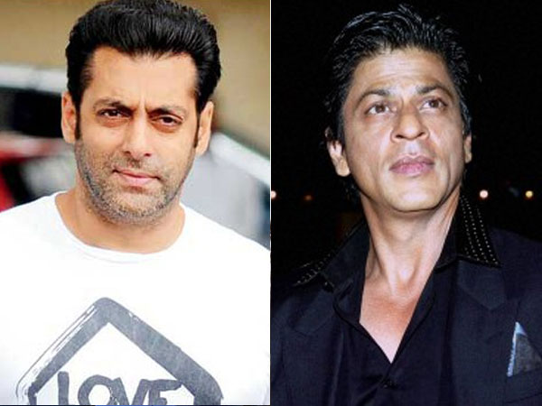 Salman Khan and Shah Rukh Khan dance to each other's tunes