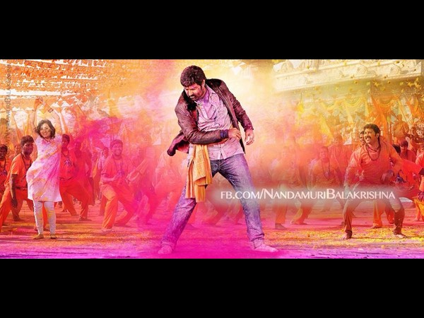 Balakrishna's Dictator song: One crore Budget