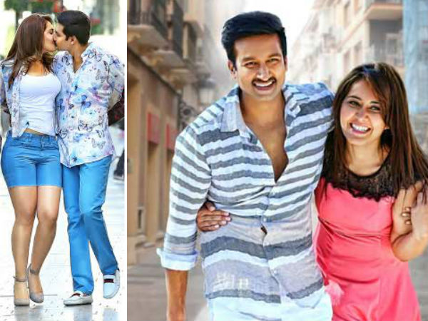 Rashi Khanna romance with Gopichand again