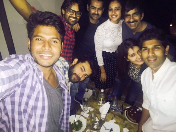 Raashi khanna birth day party pic