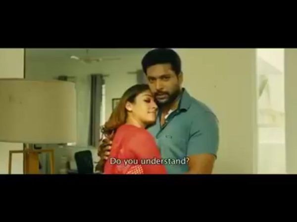 Thani Oruvan Love proposal scene