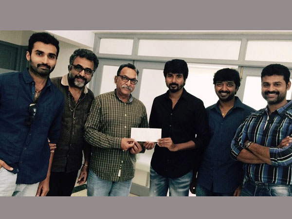 Young Actors donates 5 Lakhs to CM funds