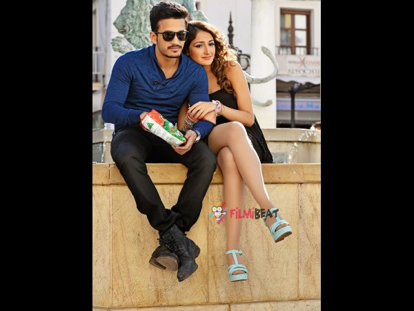 Akhil movie satellite rights down!