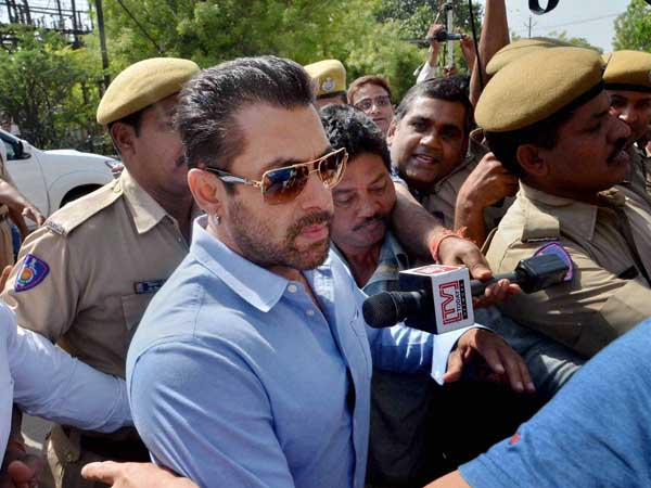 Salman Khan crying after Hit-and-Run Case Verdict