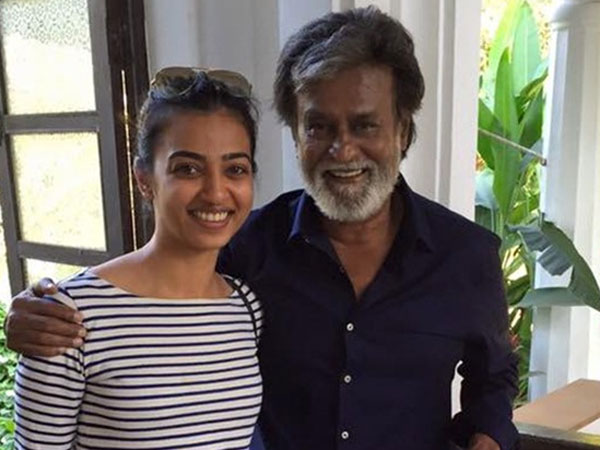 Radhika Apte was nervous about shooting opposite Rajinikanth.