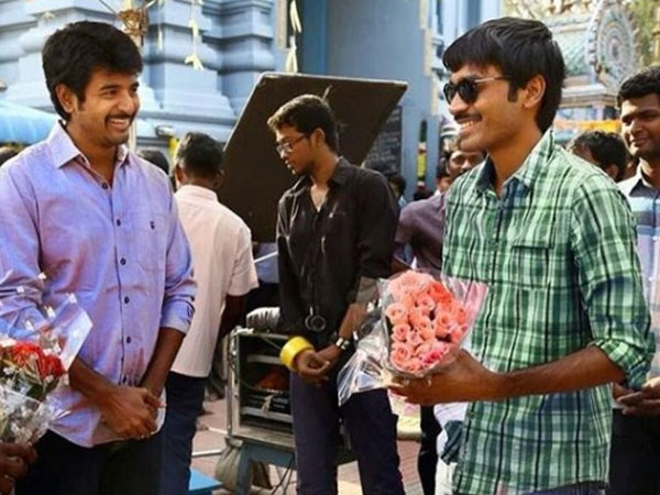 DHANUSH AND SIVAKARTHIKEYAN PATCH UP?