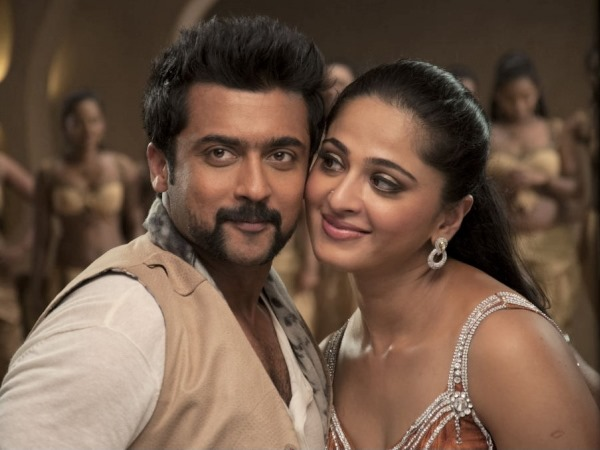 Anushka again with Surya in Singam-3