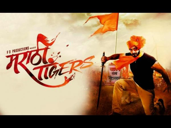"Kannada groups oppose release of Marathi film ""Marathi Tigers""."