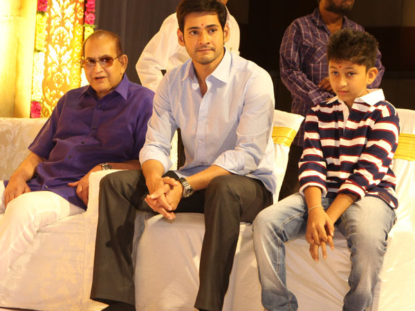 Mahesh Babu, Goutham to play guest role in Krishna's Sri Sri movie