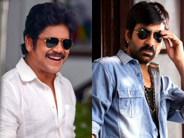 Dil Raju's project: Ravi Teja out, Nagarjuna in?