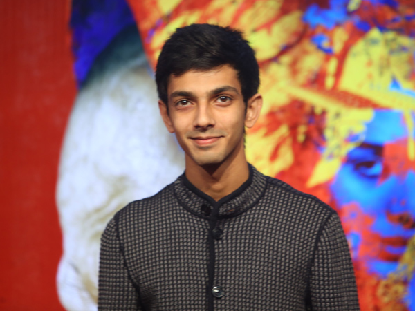 Anirudh Ravichander walks out of A..Aa