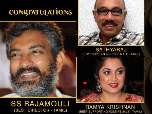WHOA! Baahubali Win Laurels At IIFA Utsavam