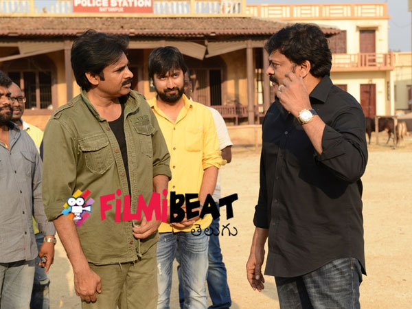 Why Chiru went to Pawan Kalyan set?