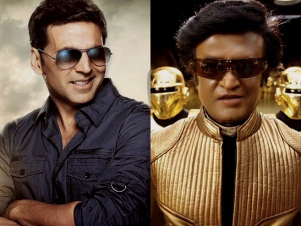 It is great to be punched by a superhero like Rajinikanth: Akshay Kumar