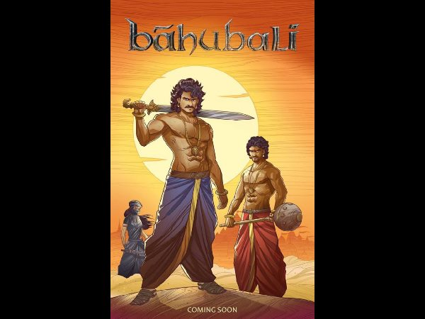 Baahubali comics first look